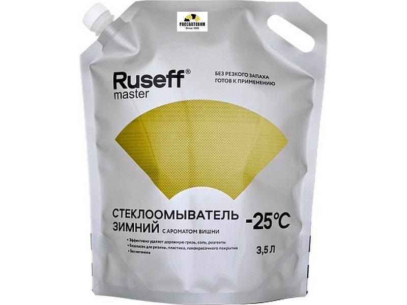 15200N RUSEFF MASTER Стеклоомыватель зимний -25°С (3,5л)