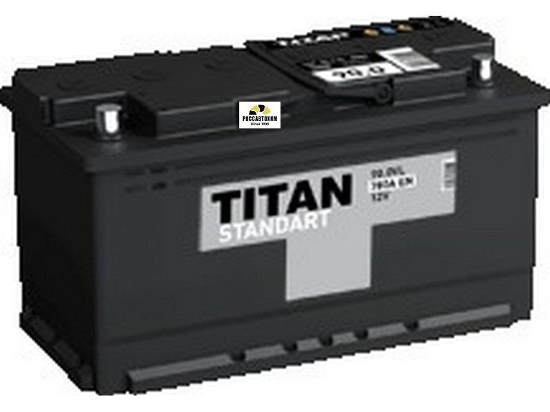 АКБ Титан-Standart 6СТ-100.0 VL о/п 100 Ач