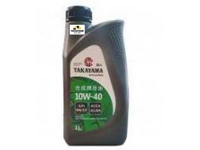 Takayama 10/40 API SL/СF п/синтетическое  1 л пластик