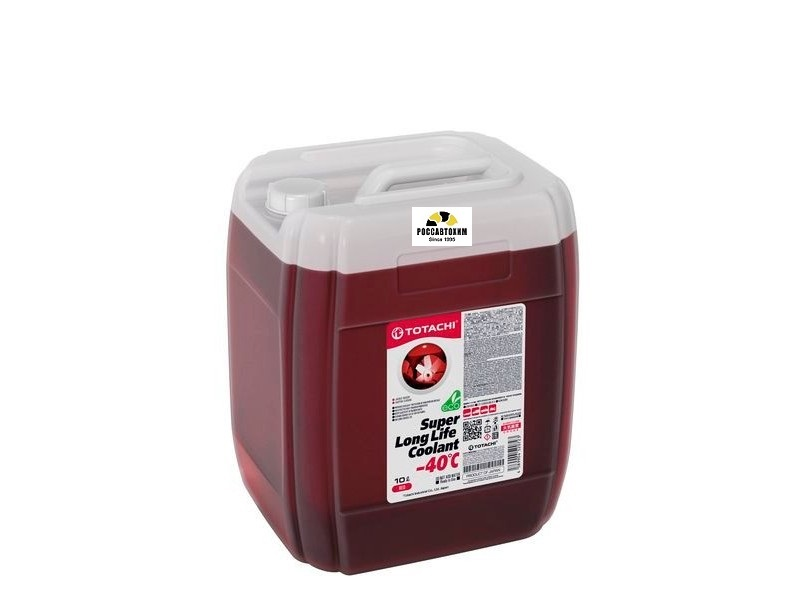 TOTACHI SUPER LONG LIFE COOLANT    Red   -40C   10л ОЖ
