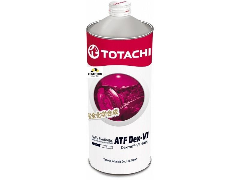 TOTACHI ATF DEX- VI синт. 1л Жидкость для АКПП
