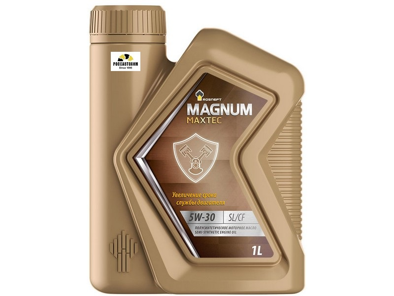 РосНефть Magnum Maxtec 5W30 SL/CF п/синтетика  1 л 605522