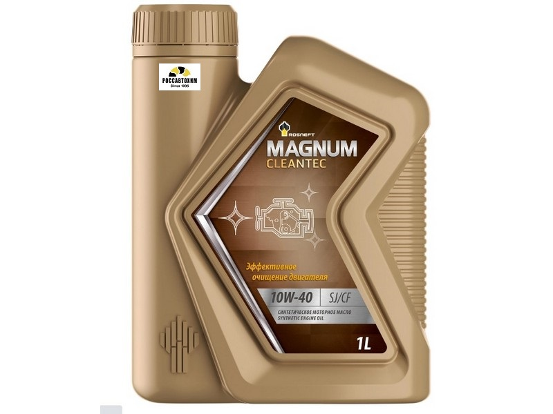 РосНефть Magnum Cleantec 10W40 SJ/CF синтетическое 1 л 40810032