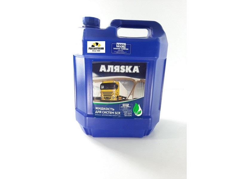 Водный р-р Жидкость для систем SCR  Аляска (мочевина) 5л