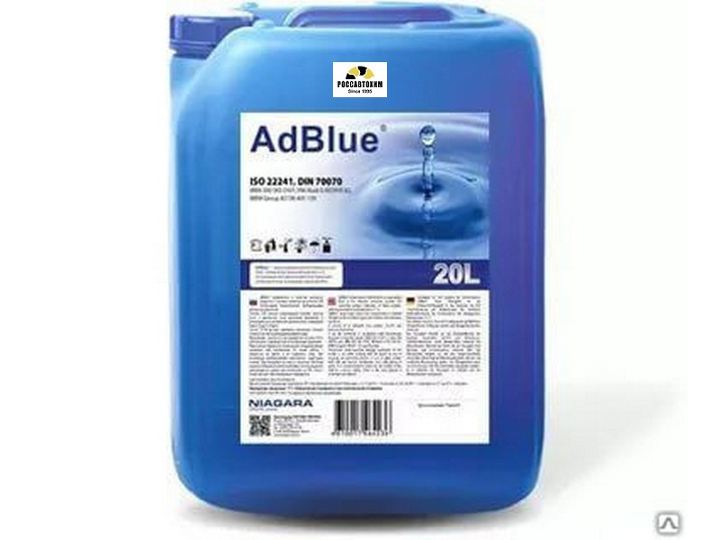 Водный р-р Жидкость для систем SCR TruckAdBlue 20л