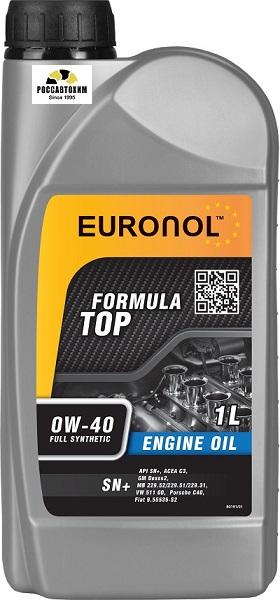EURONOL TOP FORMULA 0w-40 SN+ 1L 80191