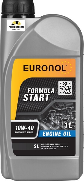 EURONOL START FORMULA 10w-40 SL 1L 80195