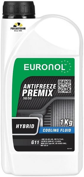 EURONOL ANTIFREEZE HYBRID READY G11 1kg